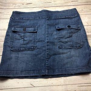 Ann Taylor loft Jean skirt
